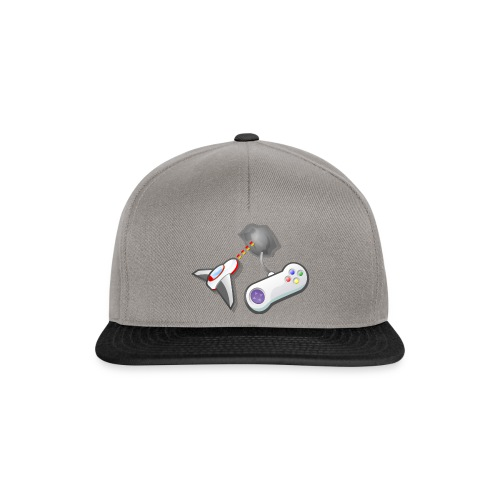 Jet and controller - Snapback Cap