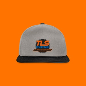 TLS Maniac Logo With Transparent Outline - Snapback Cap