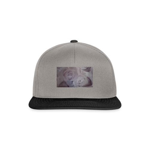 perfect pink rose's - Snapback Cap
