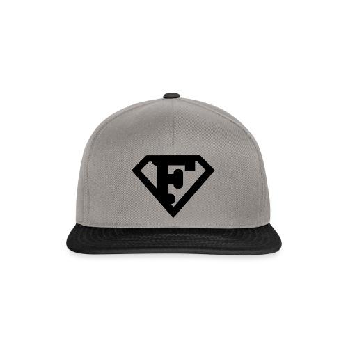 Firman Simply Black - Snapback Cap