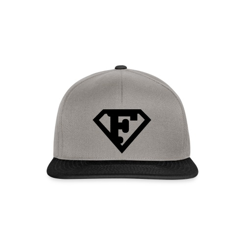 Firman Simply Black - Snapback Cap