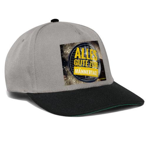 Männer-Tag - Snapback Cap
