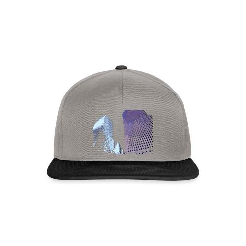 Landscape blu - Snapback Cap