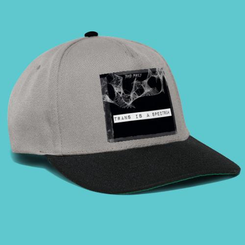 Trans is a spectrum - Snapback Cap