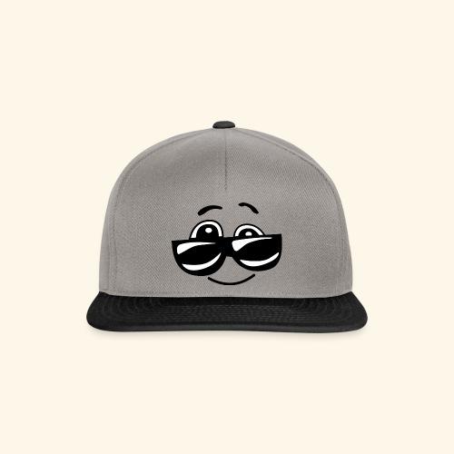cooler emoji - Snapback Cap