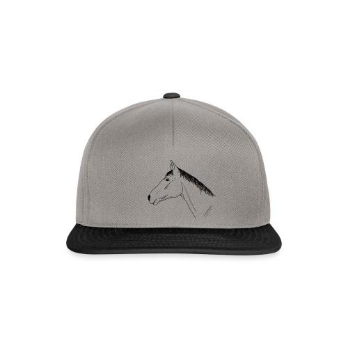 Pferdekopf Warmblut - Snapback Cap