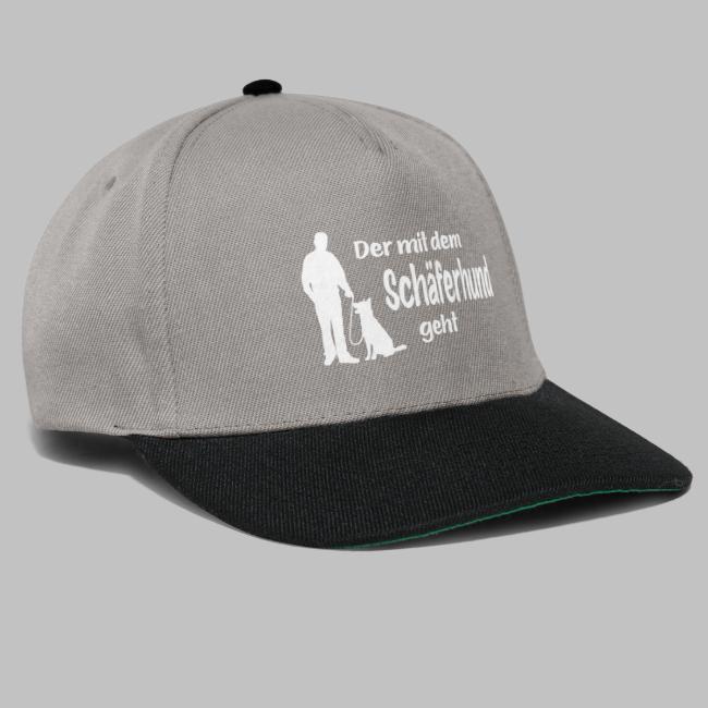 Der mit dem Schäferhund geht - White Edition