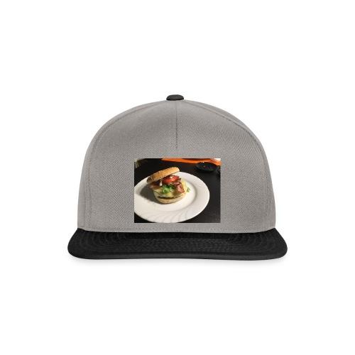 Burger - Snapback Cap