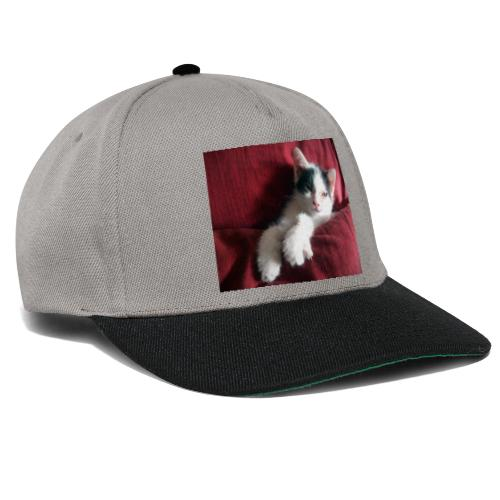 Katze in rot - Snapback Cap