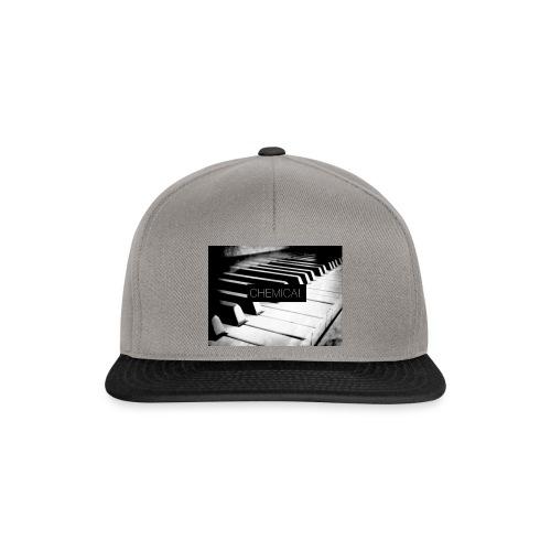 Piano black&White - Snapback Cap
