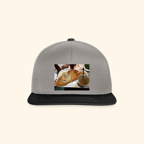 Schnitzel Motiv - Snapback Cap
