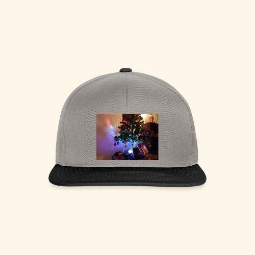 Weihnachten ist schön mit dem Party-Weihnachtsbaum - Snapback Cap
