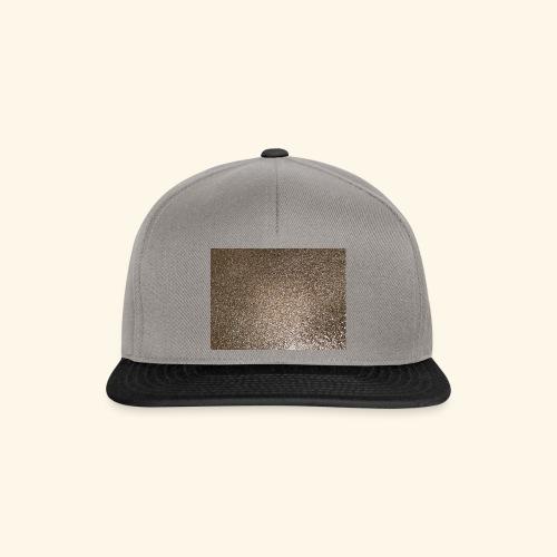 Gold Glitzer als Geschenkidee - Snapback Cap