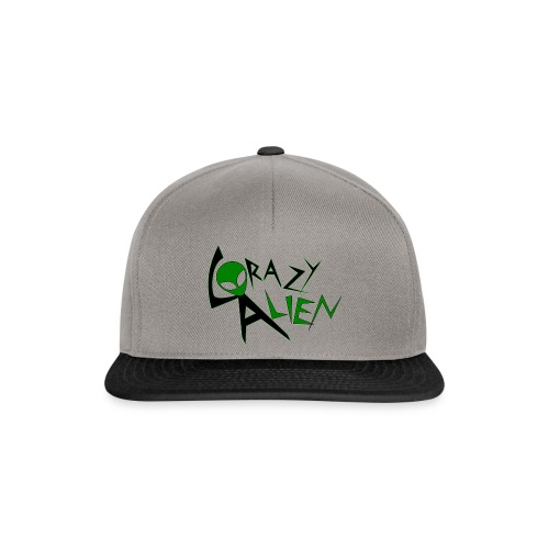 LOGOCrazyAlien01 - Snapback Cap