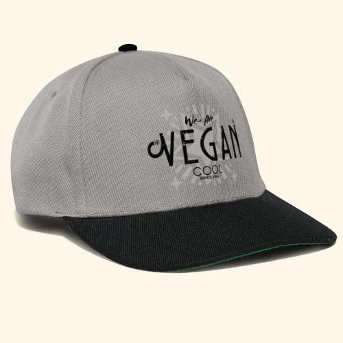 We Are Vegan Cool - Snapback Cap