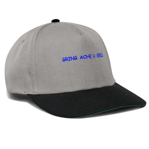 Gring ache u sekle - Snapback Cap