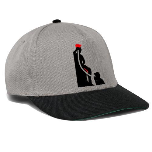 zeitloses Trichterdesign - Snapback Cap