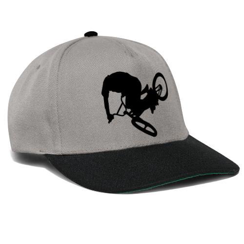 Cool BMX stunt bicycle cap design - Snapback cap