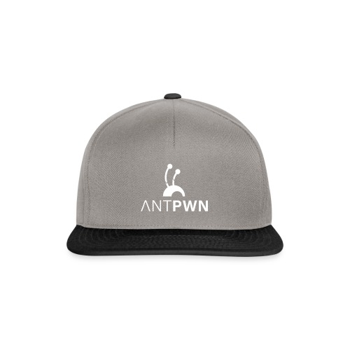 ANTPWN White - Snapback Cap