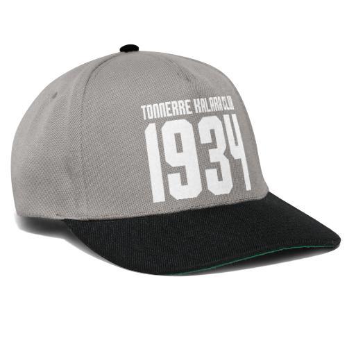 TKC 1934 sérigraphié blanc - Casquette snapback