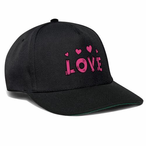 Love tuoteperhe - Snapback Cap