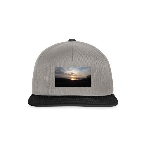 sun set - Snapback Cap