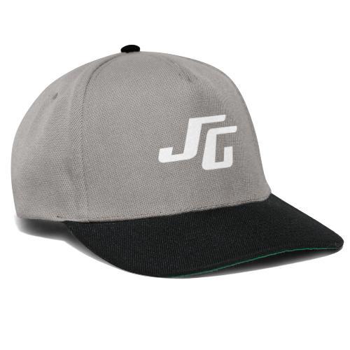 JG Logo weiss - Snapback Cap