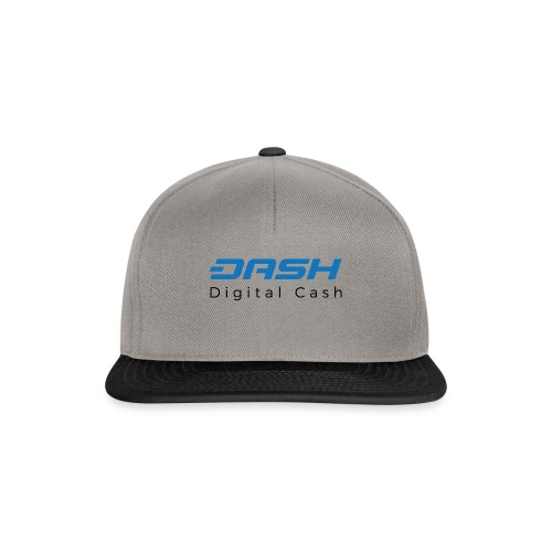 Cryptocurrency - Dash - Snapback Cap