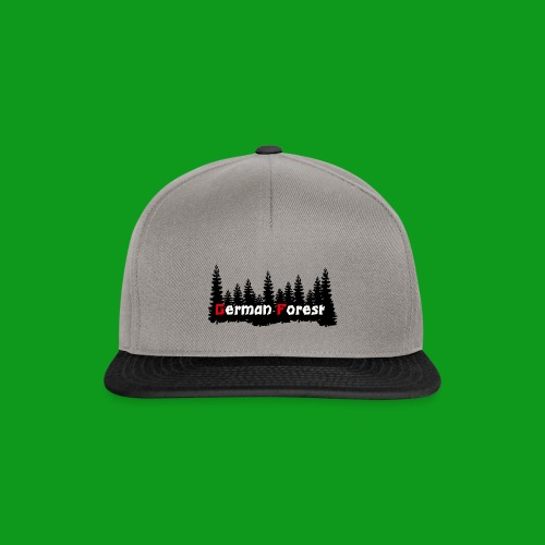 GermanForest 2 png - Snapback Cap
