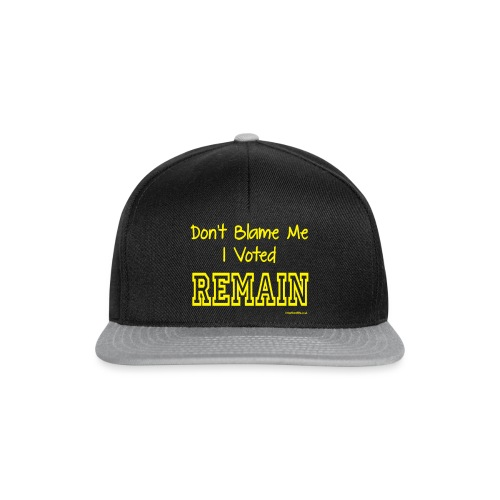 Dont Blame Me - Snapback Cap