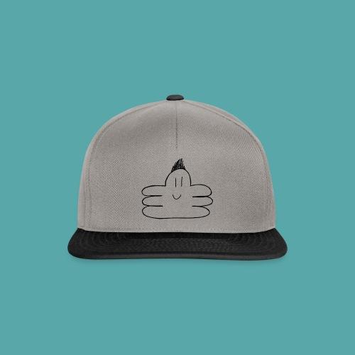 octupus edited black - Snapback Cap