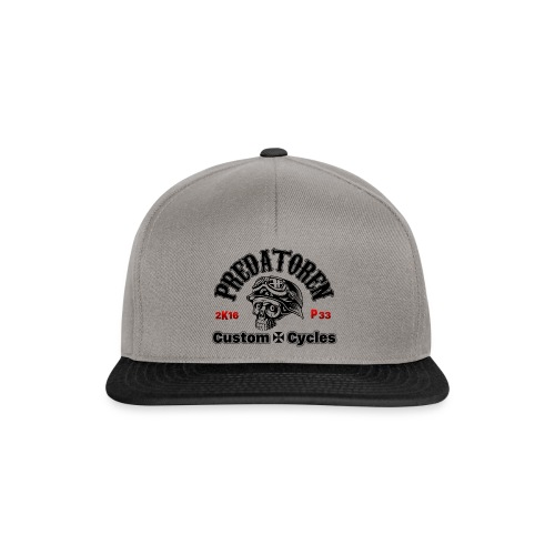 Die Predatoren Klamotte u. Accessoires Logo black - Snapback Cap