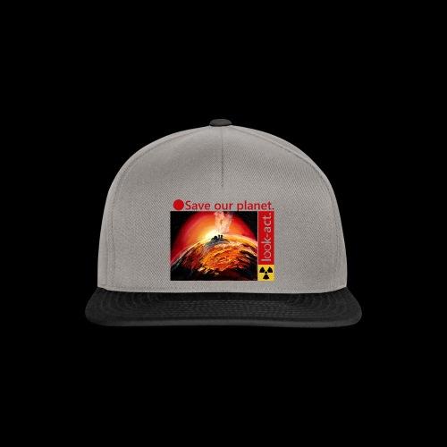 Save our planet. Fukushima Theme - Snapback Cap