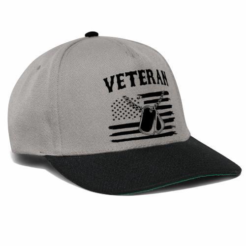 veterano soldado - Gorra Snapback