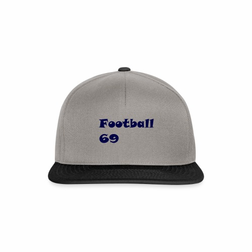 Fußball Football 69 outdoor T-shirt blue - Snapback Cap