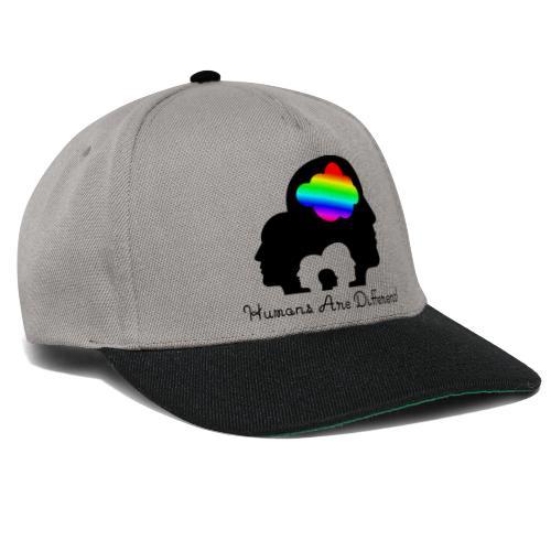 Humans are different Bunt - Snapback Cap