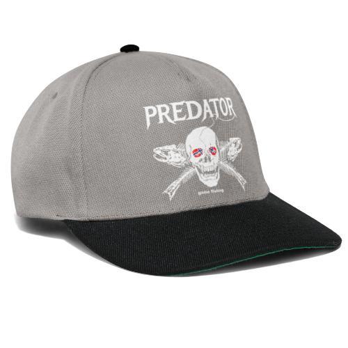 gone fishing norge - Snapback Cap