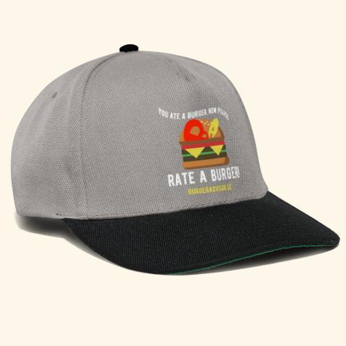 You ate a burger edition - Snapback Cap