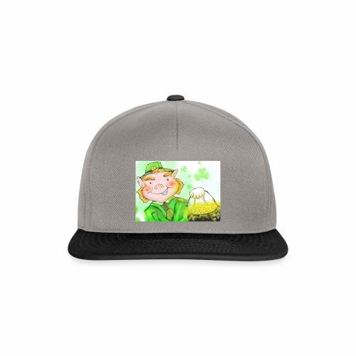 lenny the leprechaun - Snapback Cap