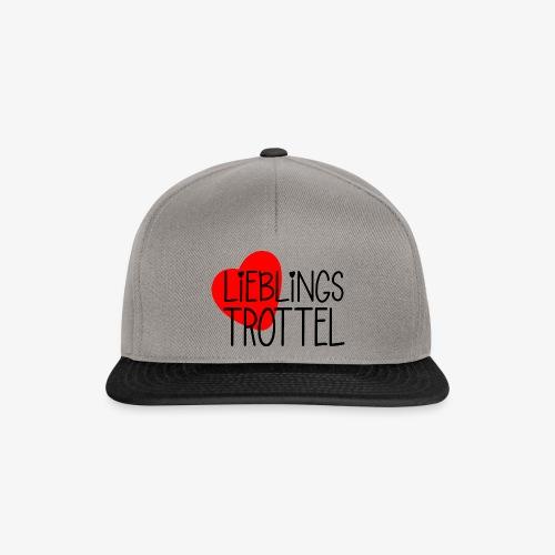 Lieblings-Trottel Geschenkidee Valentinstag - Snapback Cap