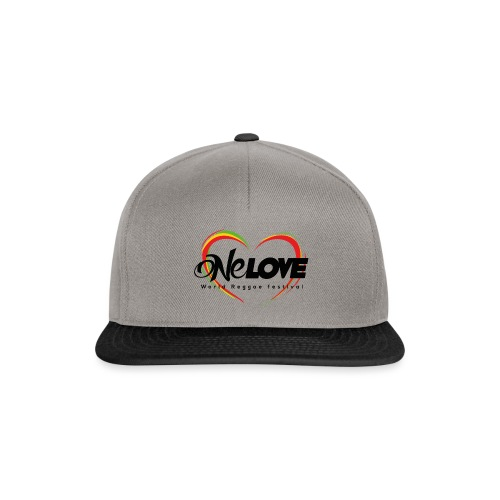 LOGO ONE LOVE 2016 - Snapback Cap