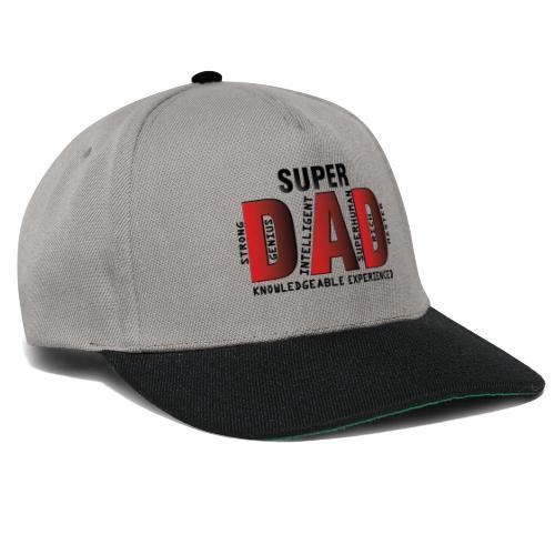 FATHER'S DAY - SUPER DAD DESIGN - Snapback Cap
