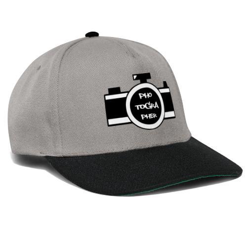 Photographer schwarz - Snapback Cap