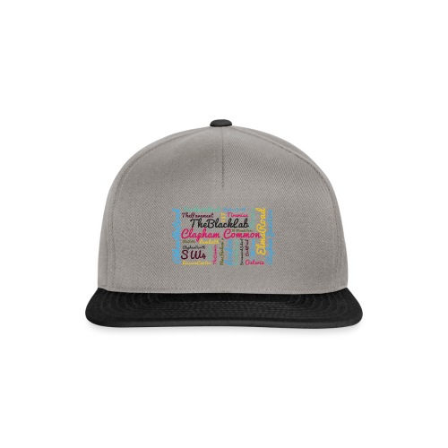 Clapham Common - Snapback Cap