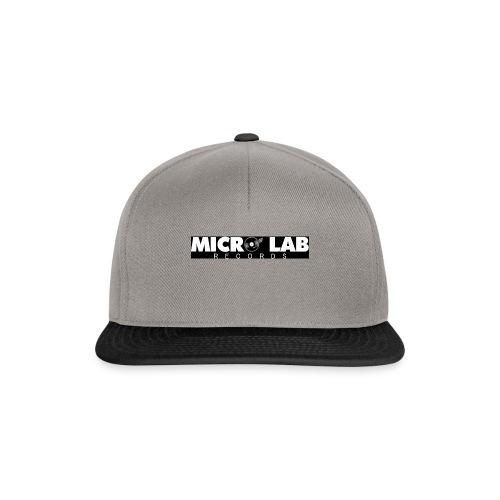 logo grande nero - Snapback Cap