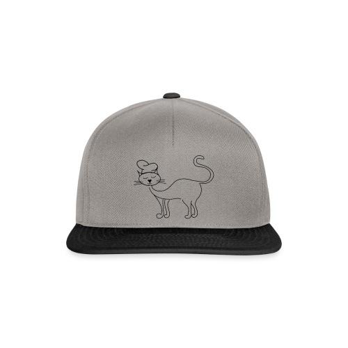 Katze mit Kochmütze - Snapback Cap