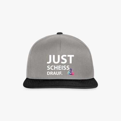 Just scheiss drauf - Snapback Cap