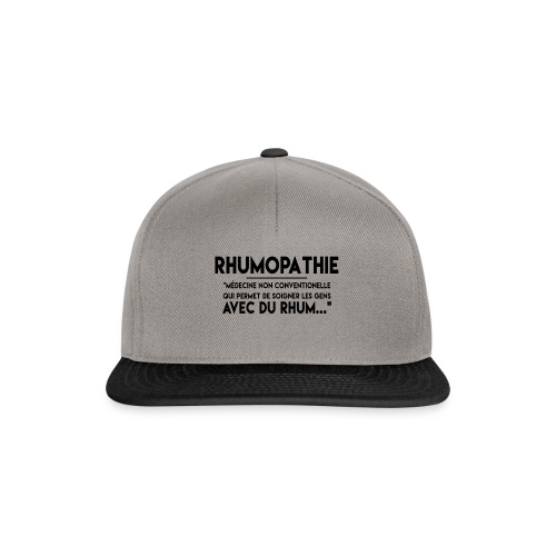 Rhumopathie - Casquette snapback