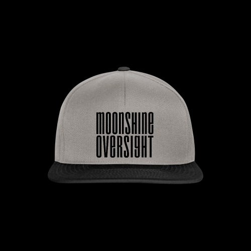 Moonshine Oversight noir - Casquette snapback