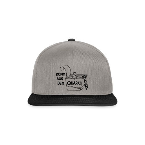 KommausdemQuark - Snapback Cap
